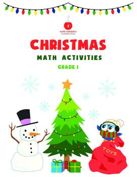 First Grade Christmas Math Activities