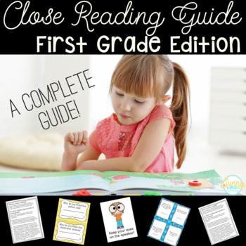 First Grade Close Reading- A Complete Guide- EVERYTHING Yo