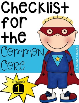 First Grade Common Core Checklist