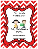 First Grade Common Core Daily Math Review Part 1