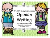Common Core - Fact and Opinion Writing