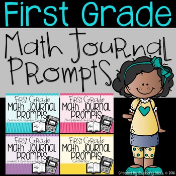 First Grade Common Core Math Journal Prompts