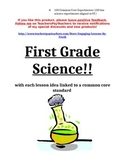 First Grade Common Core Science Lessons and Experiments (8