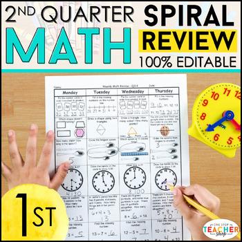 1st Grade Math Homework 1st Grade Morning Work for 2nd Qua