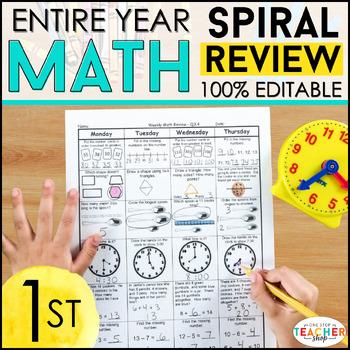 1st Grade Math Homework 1st Grade Morning Work for Daily M