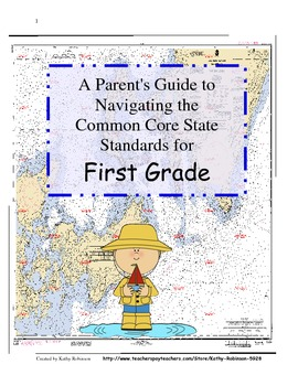 First Grade Back to School Parent Guide's to Navigating th