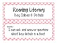 First Grade Common Core Student-Friendly ELA Standards - P