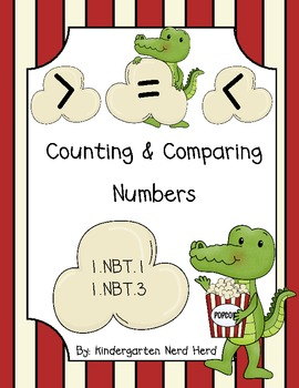 First Grade Comparing Numbers: Greater Than,... by Kindergarten ...