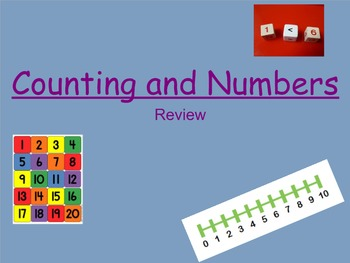 First Grade Counting and Number Review