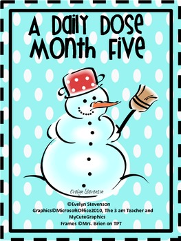 First Grade Daily Work Daily Dose Month Five