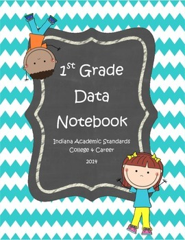 First Grade Data Notebook Cover