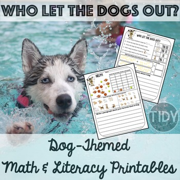 Printable Math & Literacy Fun Sheets for First Graders! (