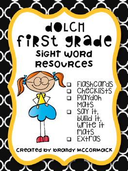 First Grade Dolch Sight Word Resources