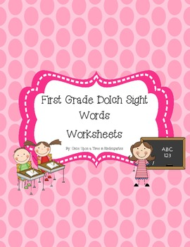 First Grade Dolch Sight Word Worksheets