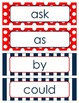 First Grade Dolch Sight Words