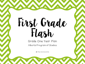 First Grade Flash - YEAR PLAN