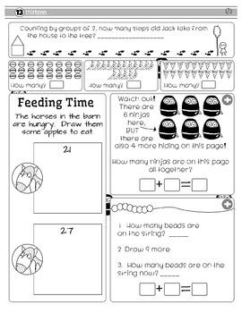 First Grade Fun Math Pack