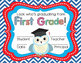 First Grade Graduation Certificates