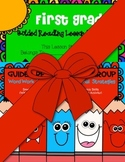 First Grade Guided Reading Word Work Strategies/ Lesson Pl