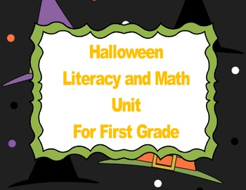 First Grade Halloween Bundle
