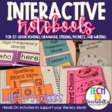 1st Grade Interactive Notebook Unit 1 {5 WEEKS} Short Vowe