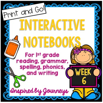 1st Grade Interactive Notebook- Summarize, Shades of Meani