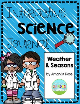 First Grade Interactive Science Journal: Weather and Seasons