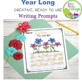 Year-Long Writing Prompts {First Grade}