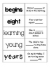 First Grade Journeys Unit 5 Sight Word Cards