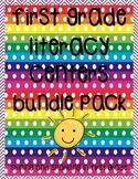 First Grade Literacy Centers Bundle