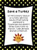 First Grade Literacy Stations for November with BONUS Nove