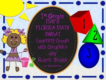 First Grade MAFS Learning Goals in SWBAT (Student will be