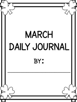 March Daily Journal - 2017