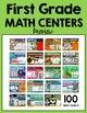 First Grade Math Centers Full-Year Bundle