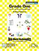 First Grade Math Centers and Worksheets Bundle - Binders 1 - 3