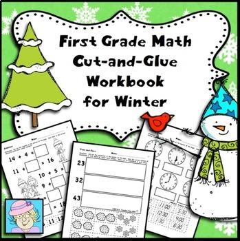 First Grade Math Winter Theme