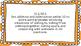 1st Grade Math Standards Posters on Orange Sunburst Frame
