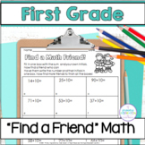 Find a Friend First Grade Math