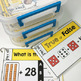 First Grade Math Flip and Go Cards BUNDLE