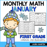 First Grade Math January