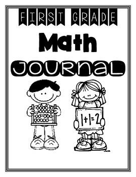 First Grade Math Journal Bundle