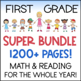 First Grade Super Bundle - ALL of my 1st Grade Products