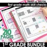 First Grade Math - MEGA BUNDLE - Print and Go