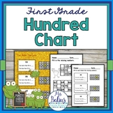 Hundred Chart Place Value First Grade Math