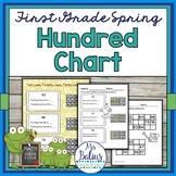 Hundred Chart First Grade Math  Place Value {SPRING}