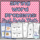 First Grade Math {Through the Year}  Word Problem Bundle C