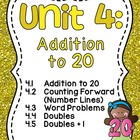 First Grade Math Unit 4