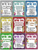 First Grade Math Units 10-18 BUNDLE