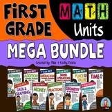 First Grade Math Units BUNDLE