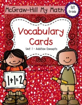 First-Grade Math Vocabulary - BUNDLE {My Math Series - ALL